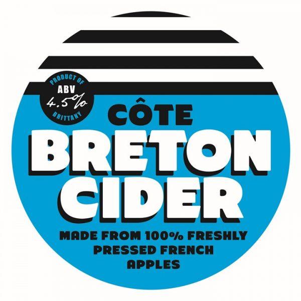 breton cider badge